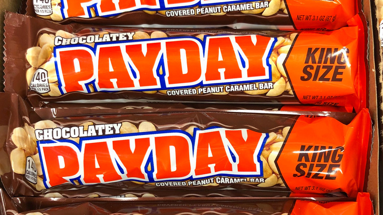 King size PayDay candy bars