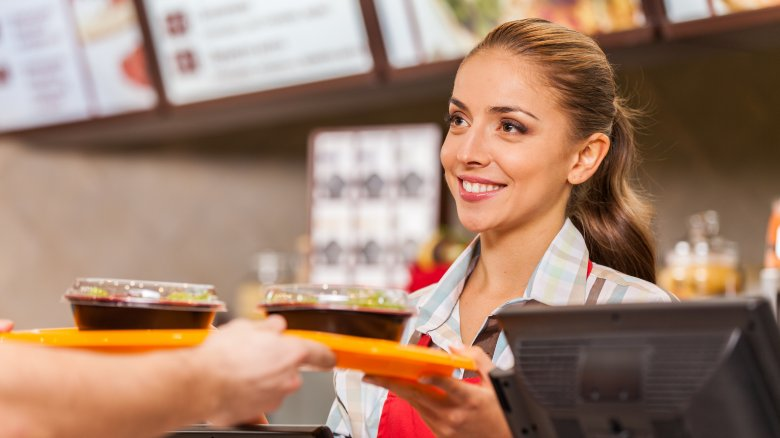 Fast food server