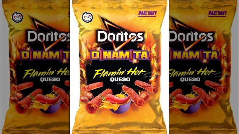 Doritos new Dinamita packaging