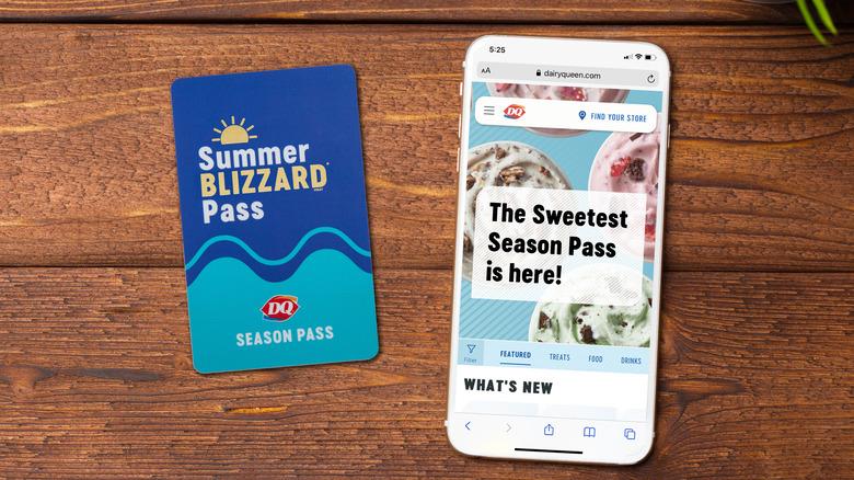 Summer Blizzard Pass from Dairy Queen
