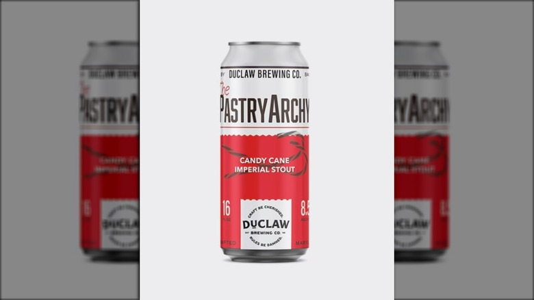 Duclaw PastryArchy Candy Cane beer