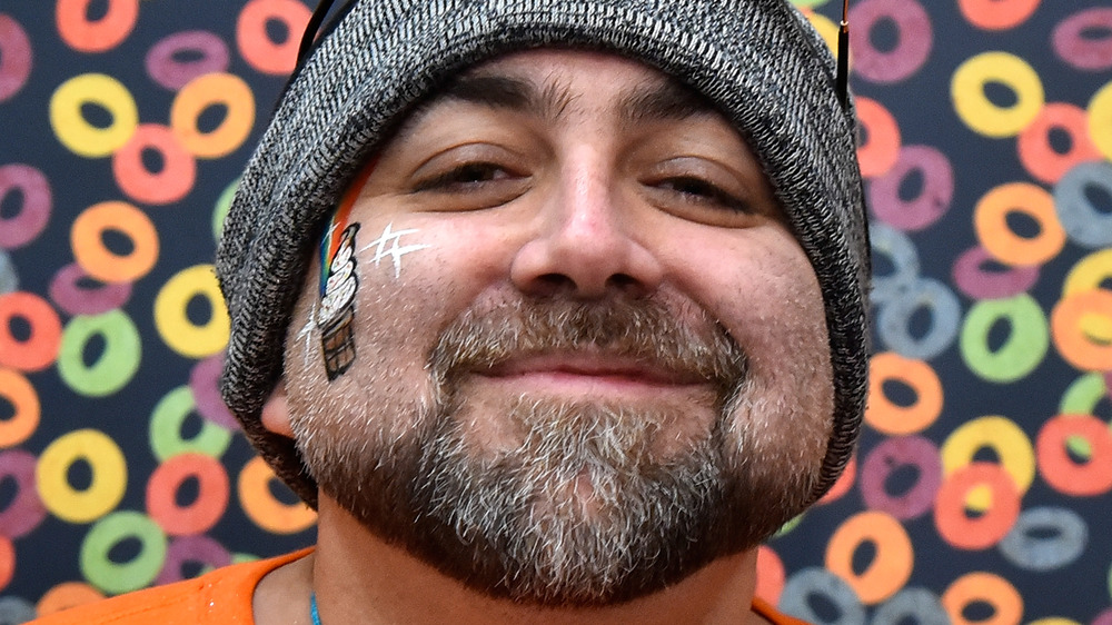 Celebrity chef Duff Goldman close-up
