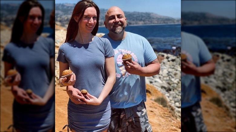 Duff Goldman and wife Johnna Colbry