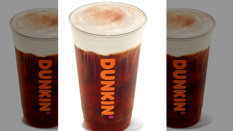 Dunkin' Smoked Vanilla Cold Brew with Sweet Cold Foam