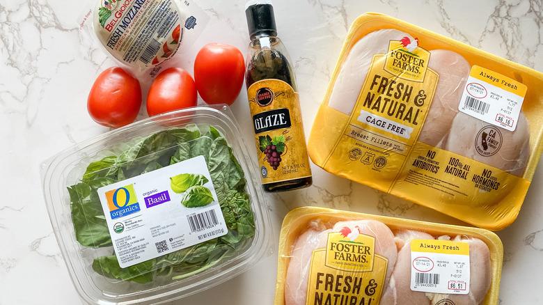 Caprese chicken ingredients