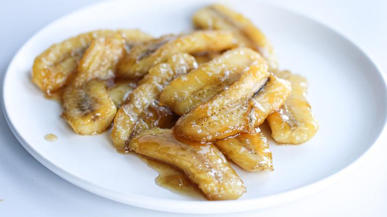 easy caramelized bananas