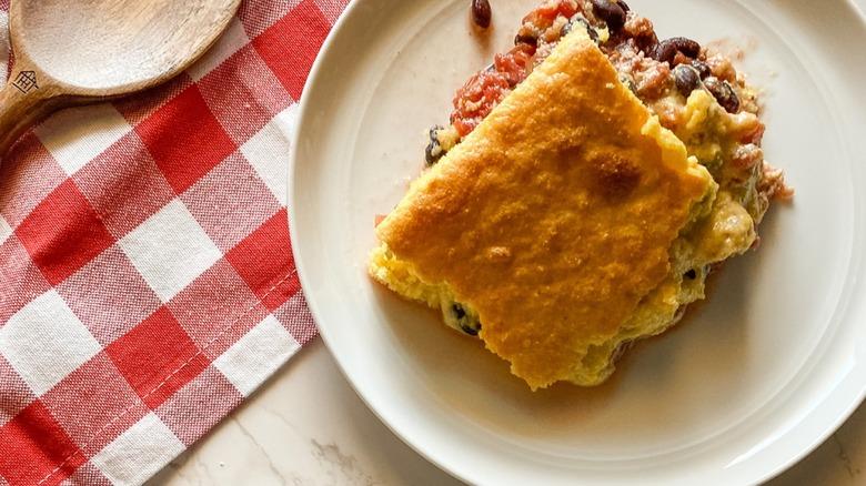 Easy Chicken Tamale Pie Recipe