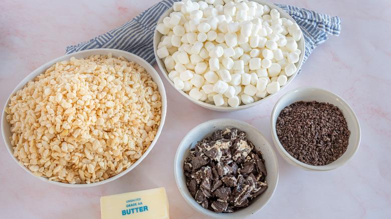 Oreo Rice Krispie Treats ingredients