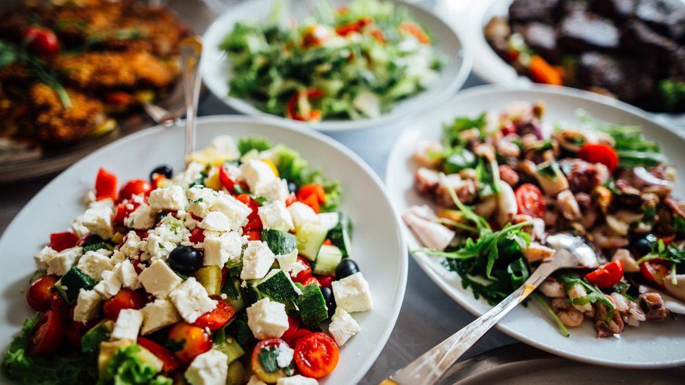 different side salads