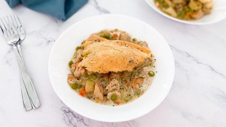 slow cooker pot pie