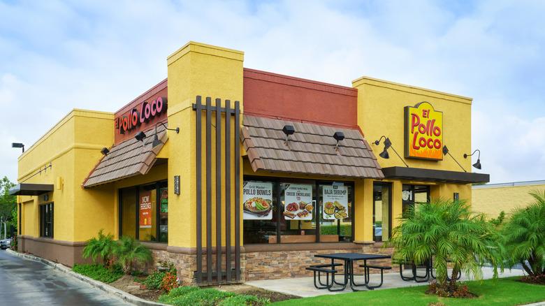 El Pollo Loco restaurant exterior