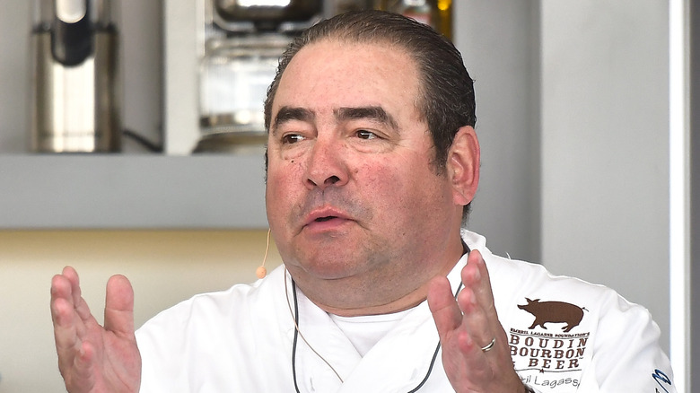 Chef Emeril Lagasse cooking
