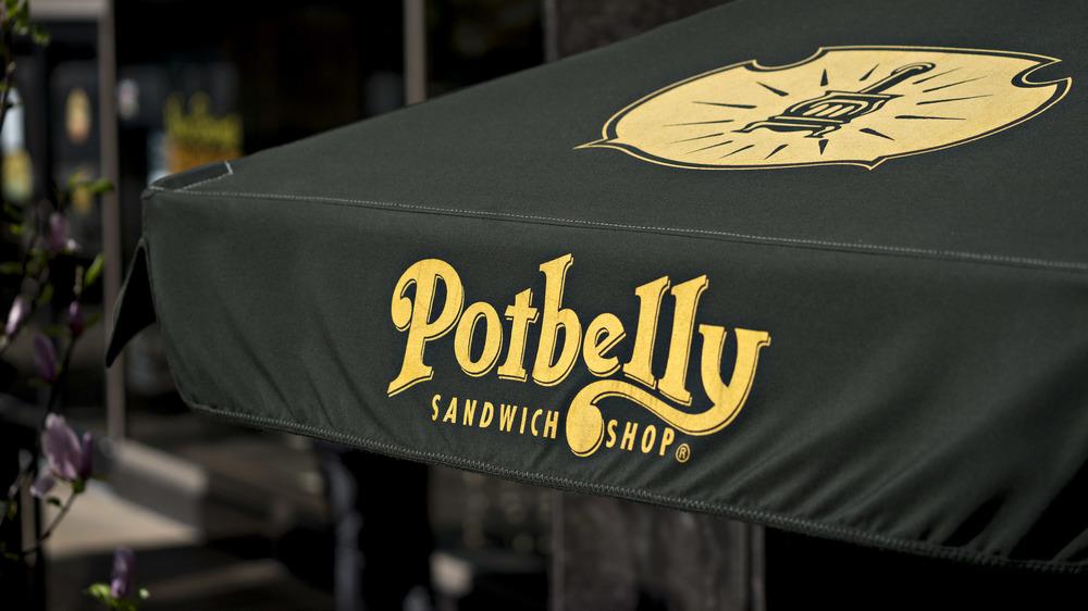 Potbelly restaurant logo