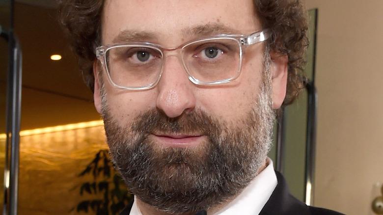 Eric Wareheim wearing glasses