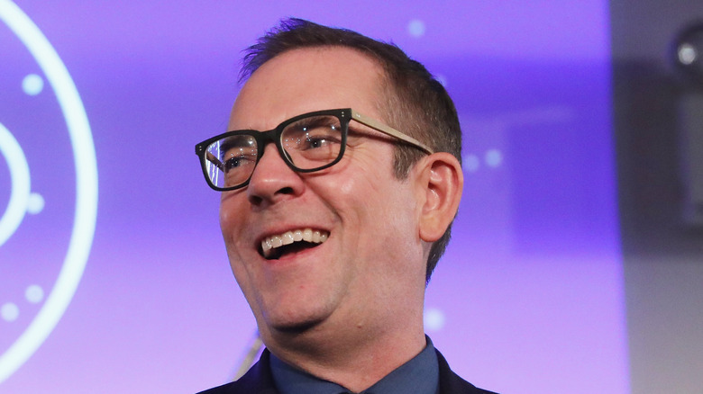 Ted Allen laughing