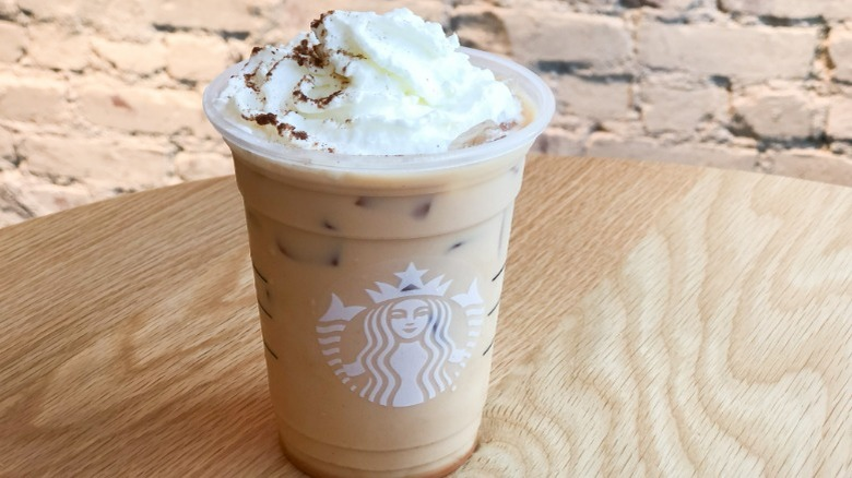 Starbucks Iced Pumpkin Spice Latte