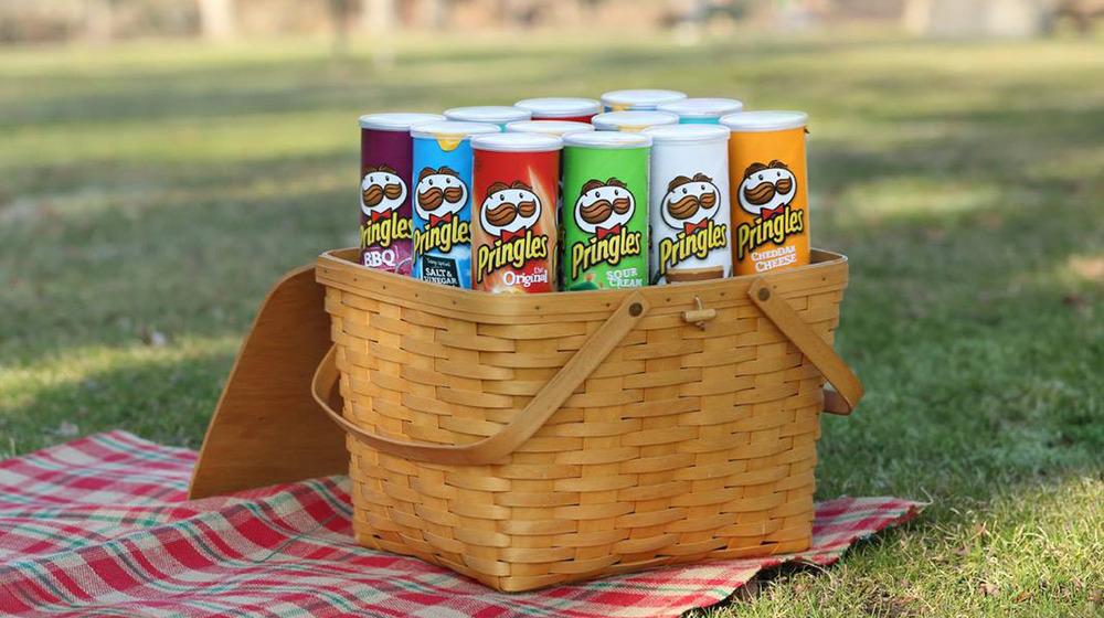 Pringles chip flavors