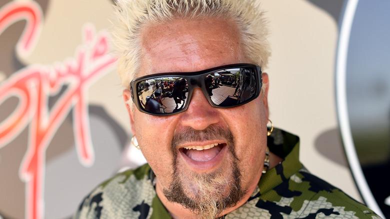 Guy Fieri in black sunglasses