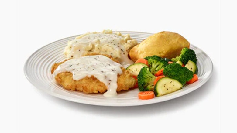 Boston Market country chicken meal