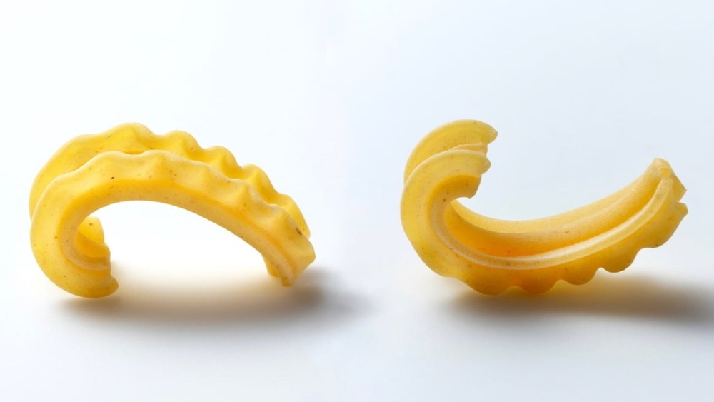 Cascatelli pasta shape by Sfloglini