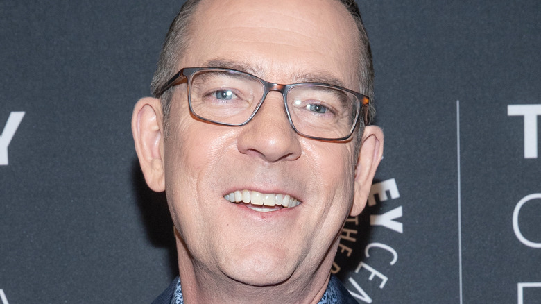 Ted Allen, close up of face