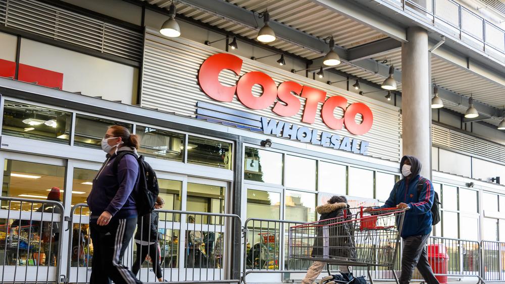 Costco line in November