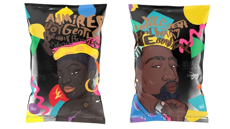 Doritos package design supporting Black artists