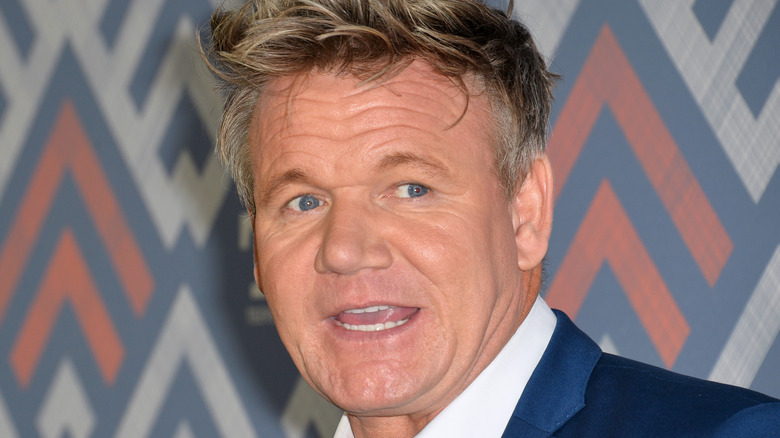 Chef Gordon Ramsay, who is set to release his first liquor brand.