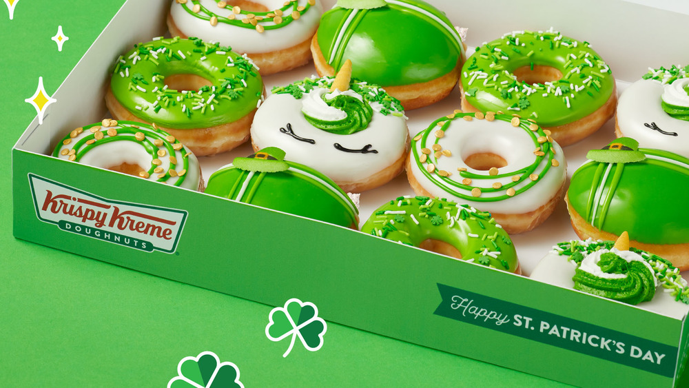 Krispy Kreme Luck O' the Doughnuts collection