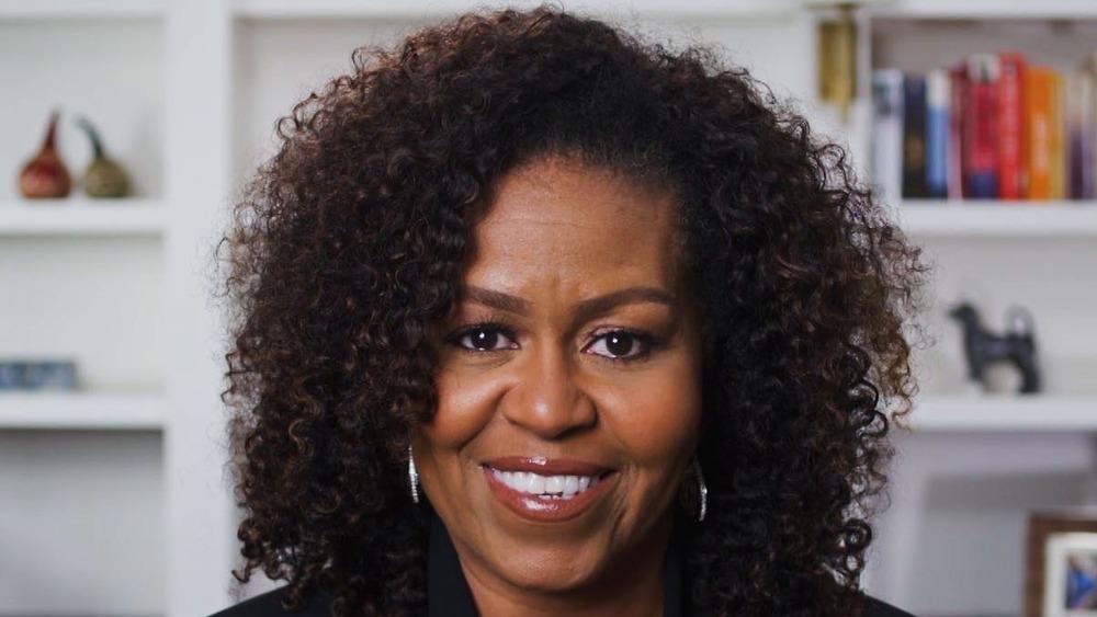headshot of Michelle Obama