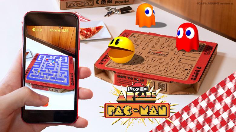 Pizza Hut Pac-Man promotional image