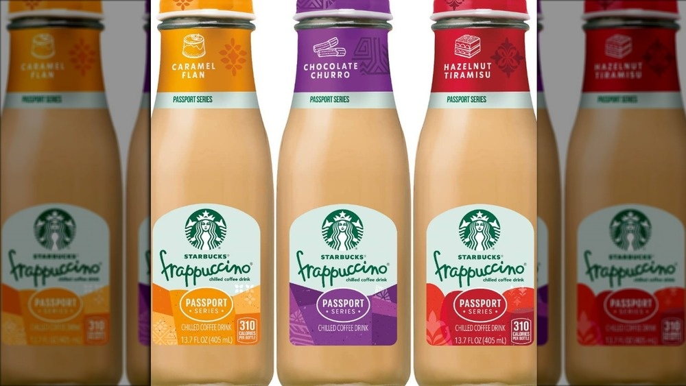 Starbucks bottled Frappuccinos new flavors