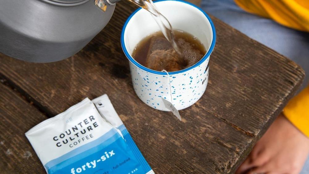 CounterCulture single-serve steeping coffee