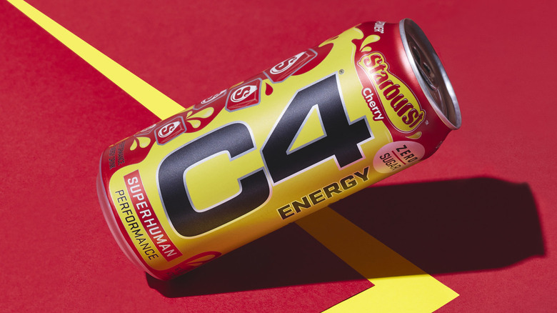 New Starburst energy drink