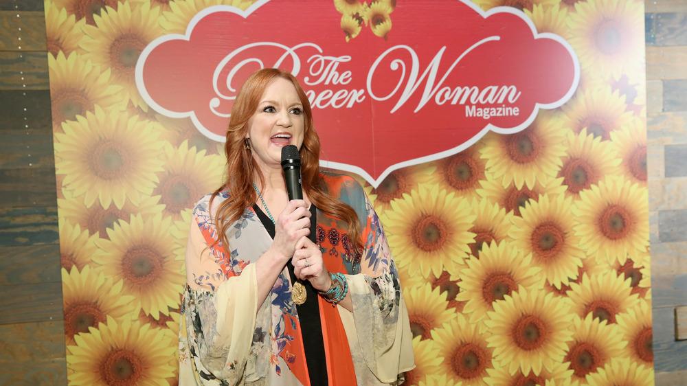The Pioneer Woman Ree Drummond speaking