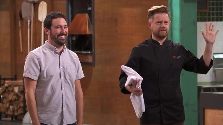 Top Chef amateur and Richard Blais