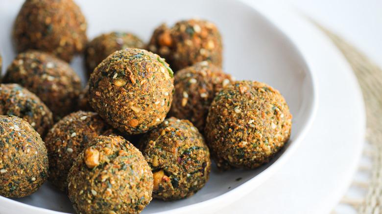 falafel in a bowl