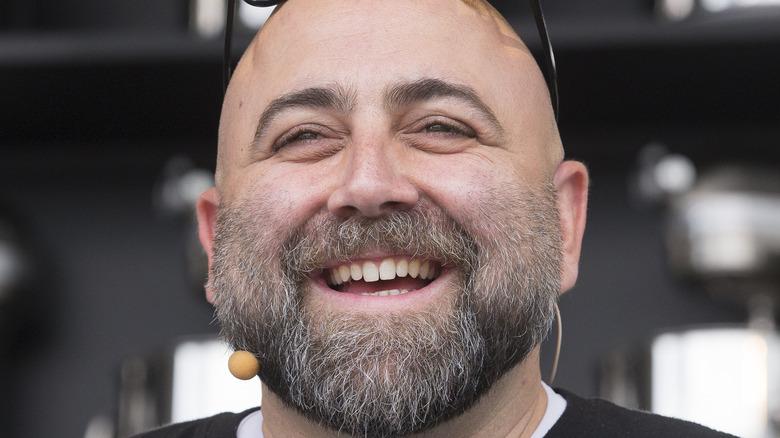 Duff Goldman smiling at event