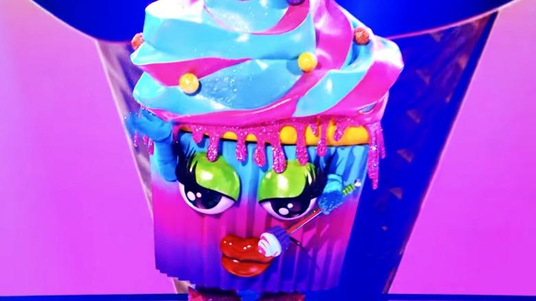 Cupcake performing on The Masked Singer