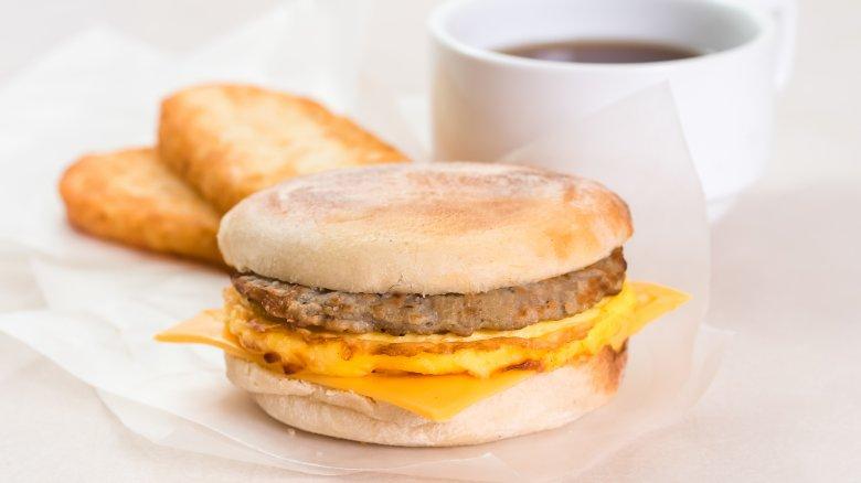 fast food breakfast