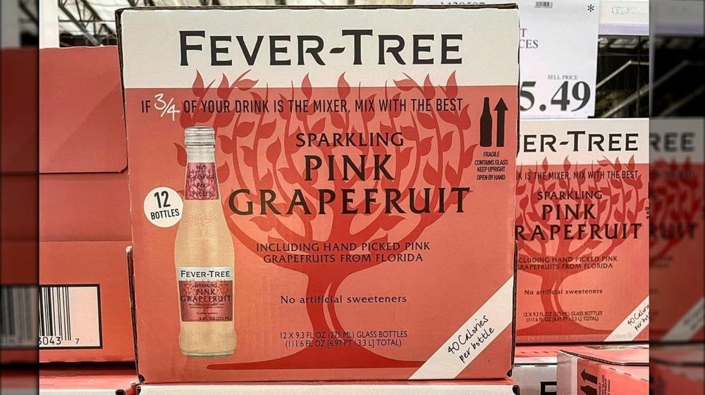 Fever-Tree pink grapefruit cases