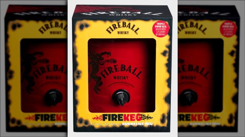 Fireball Keg