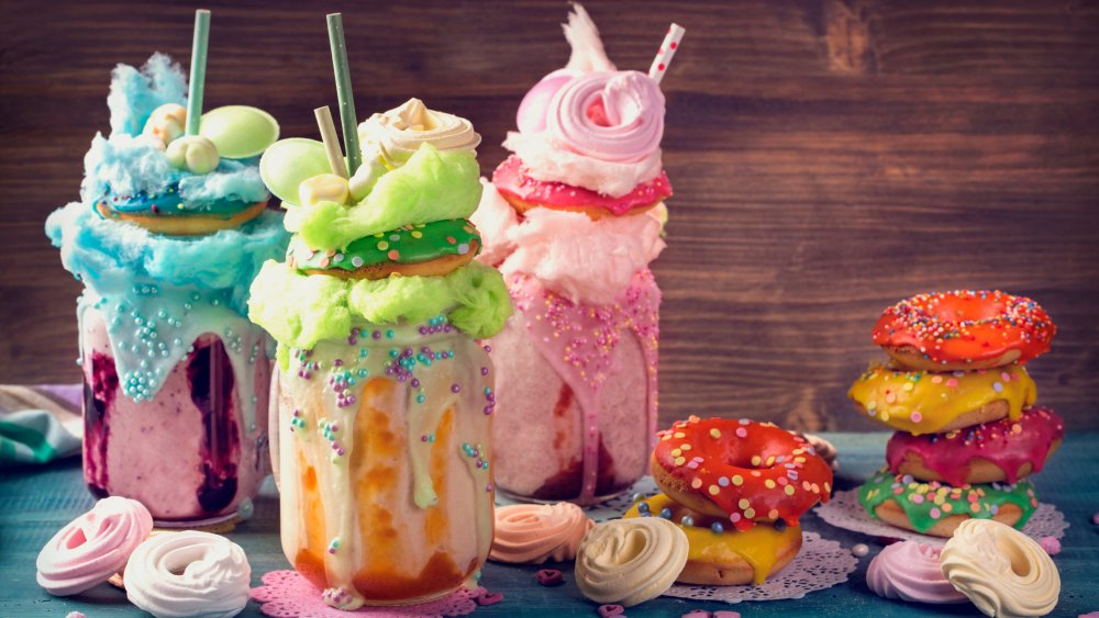 freakshakes are an outgoing food trend