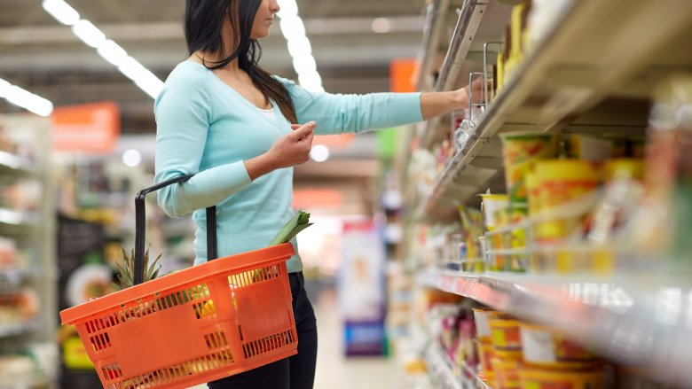 woman shoping