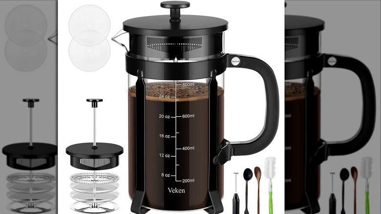 Veken French Press Coffee Maker