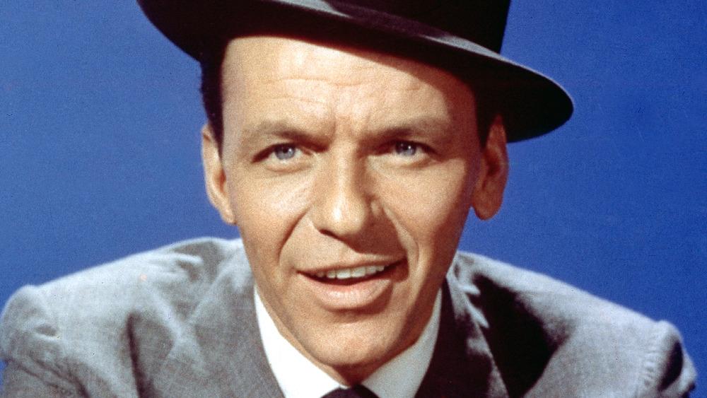 Frank Sinatra in fedora