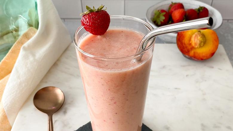 fresh fruit smoothie