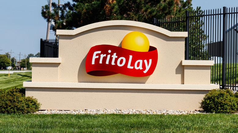 Frito-Lay Sign