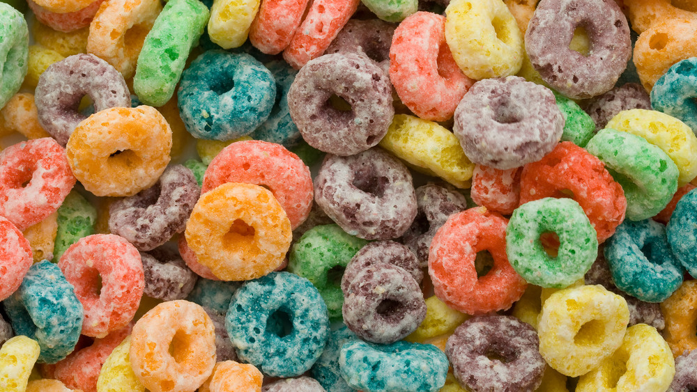 Foot Loops cereal