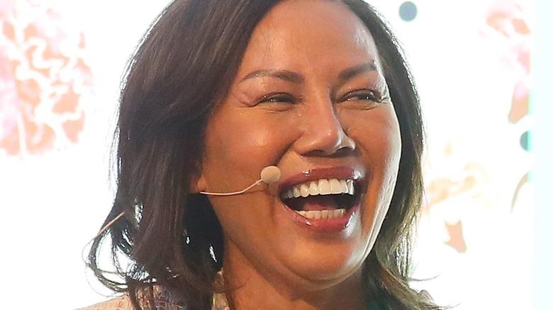 Pepper Teigen laughing